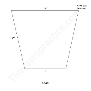 Plots which are narrow in front and broad in the rear